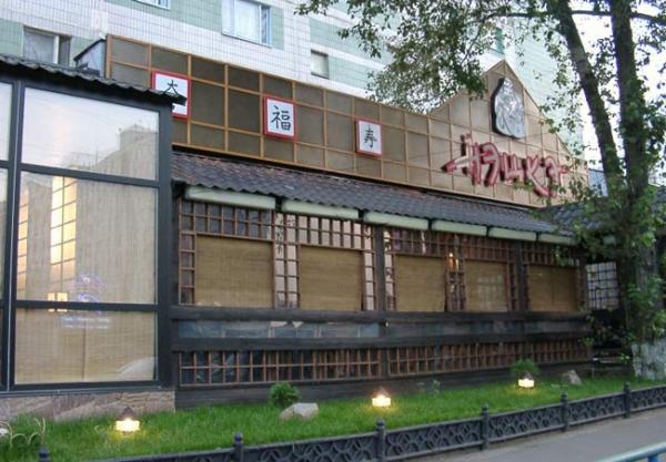 Сеть ресторанов японской кухни Нэцке
